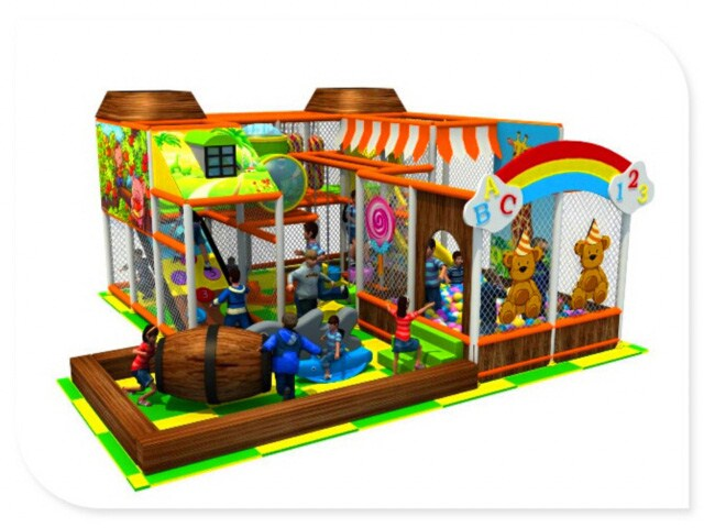 Indoor Soft Play Area - <50sqm - Indoor Play Structure for ...