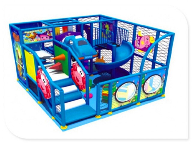 Indoor Soft Play Area - <50sqm - Small Space Indoor Play Structure ...