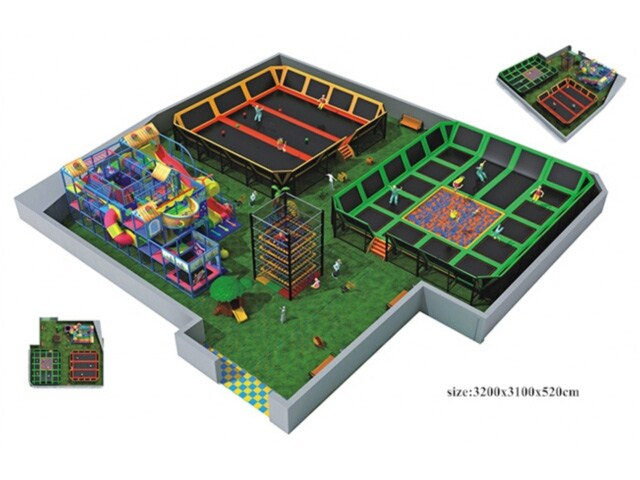 Ihram Kids For Sale Dubai: Large Indoor Trampoline Parks
