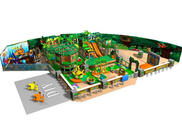 Indoor Soft Play Area - 151 to 350sqm - Large Tree House Indoor ...