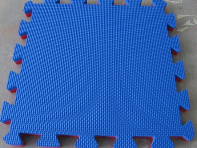 Preschool Furniture Safety Floor Tile 1m X1m Multi