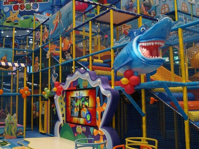 Inflatable furniture for kids - Indoor Soft Play Area 350sqm Large Shopping Center