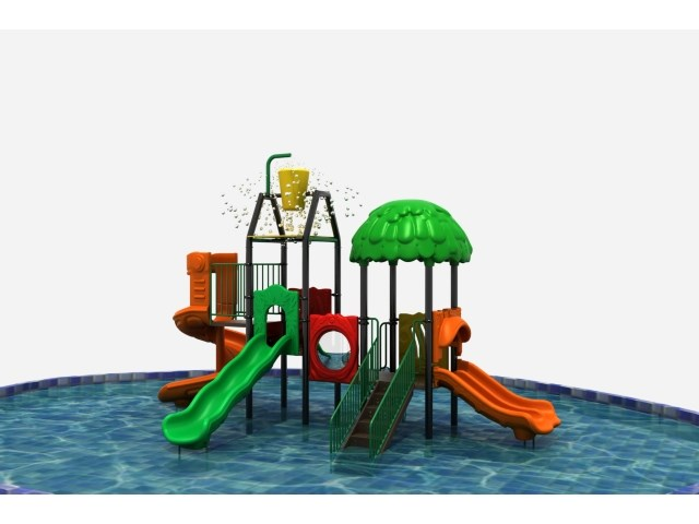 Outdoor Play Structures - Swimming Pool Slides - Kids Water ...