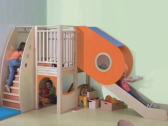 Indoor Soft Play Area - Indoor Wooden Playsets - Indoor Interior ...
