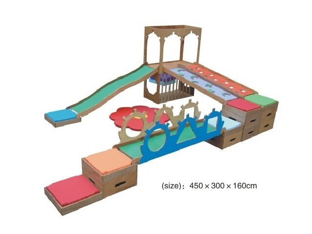 Indoor Soft Play Area - Indoor Wooden Playsets - Products - Happy ...